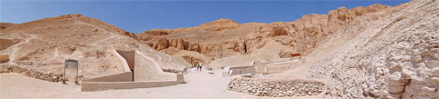 The Valley of the Kings, Luxor, West Bank, Egypt